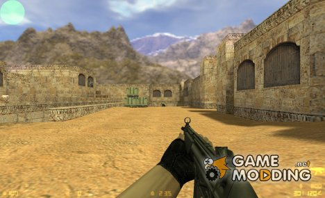 Twinke MP5 on IIopn animations для Counter-Strike 1.6