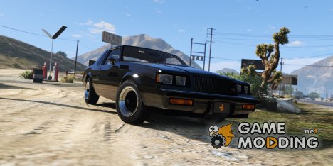 1987 Buick GNX 1.4 for GTA 5
