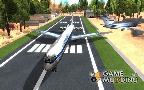 Ил-62М Аэрофлот for GTA San Andreas