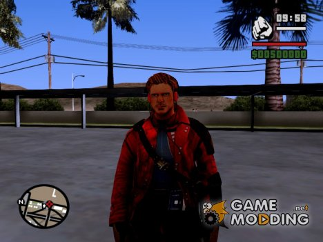 Star Lord Peter Quill GoTG для GTA San Andreas