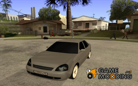 Lada Priora Tuning for GTA San Andreas