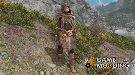 Forsworn Mage Armor by Natterforme for TES V Skyrim