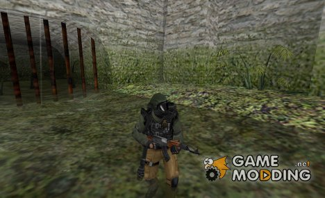 Flamethrower Leet для Counter-Strike 1.6