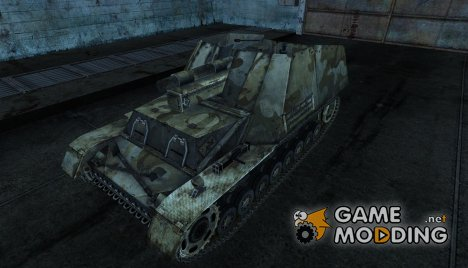 Hummel 02 для World of Tanks