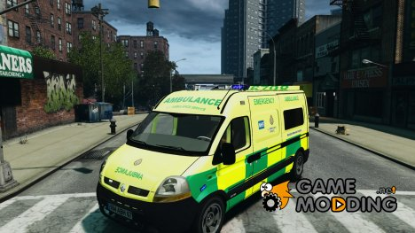 Renault Master 2007 Ambulance Scottish для GTA 4