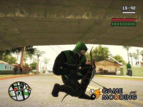 Green Arrow Bow From Injustice Gods Among Us V3 для GTA San Andreas
