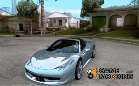 Ferrari 458 Italia Convertible for GTA San Andreas