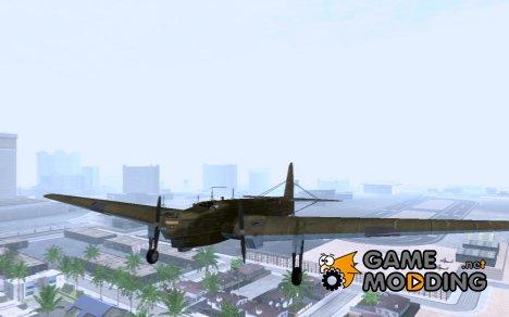 Бомбардировщик ТБ-3 v1 для GTA San Andreas