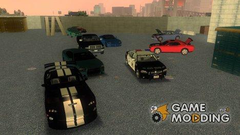Пак машин Dodge for GTA 3