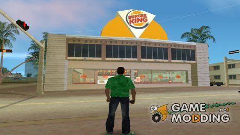 Burger King for GTA Vice City