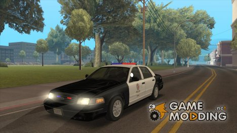 Ford Crown Victoria 2009 (LAPD) for GTA San Andreas