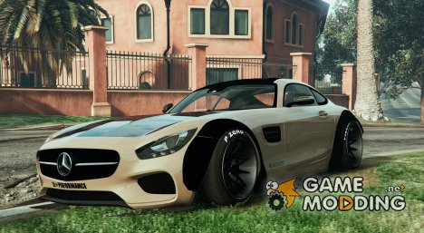Mercedes-Benz AMG GT 2016 LibertyWalk v1 for GTA 5