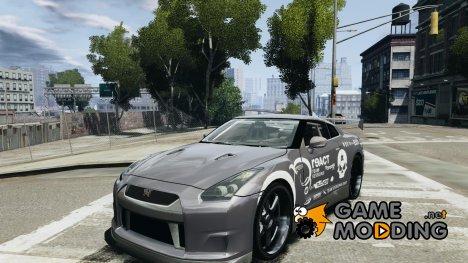 Nissan GT-R 35 rEACT v1.0 для GTA 4