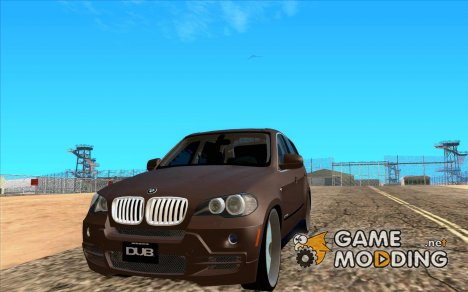 BMW X5 dubstore for GTA San Andreas