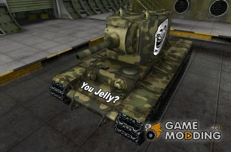 Шкурка для КВ-2 for World of Tanks