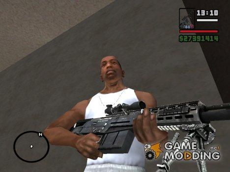 Пак лучших скинов оружия for GTA San Andreas