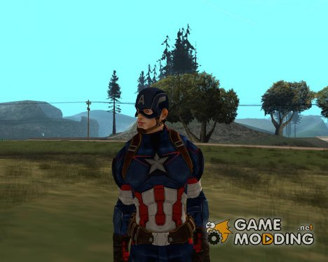 Первый Мститель 2015 for GTA San Andreas