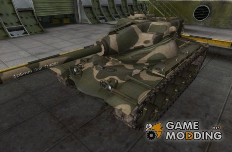 Шкурка для T54E1 for World of Tanks