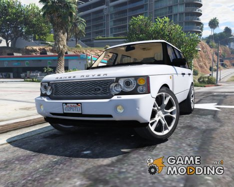 2010 Range Rover Supercharged для GTA 5