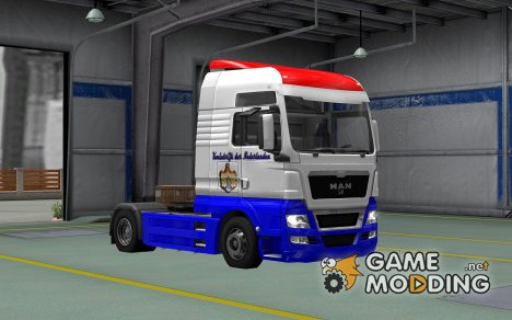 Скин Нидерланды для MAN TGX for Euro Truck Simulator 2