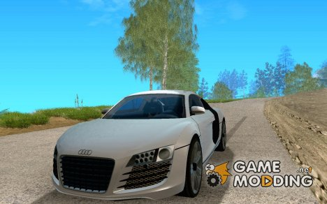Audi R8 LeMans для GTA San Andreas