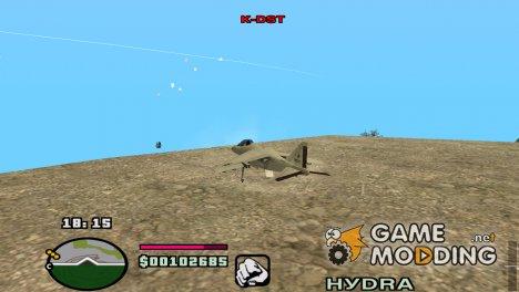 Новое расположение худа for GTA San Andreas