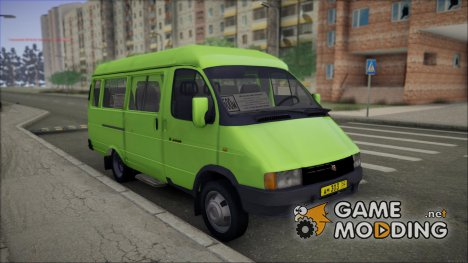 ГАЗель 32213 for GTA San Andreas