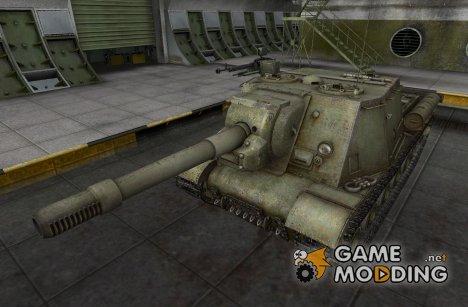Ремоделлинг для ИСУ-152 for World of Tanks