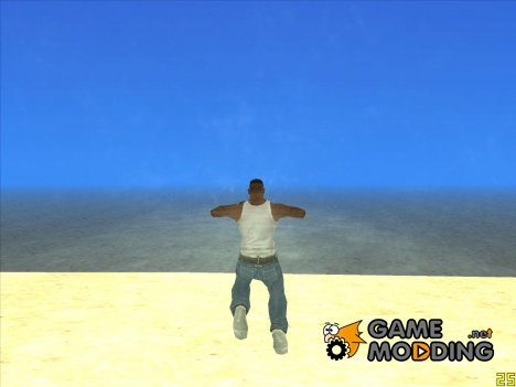 Прозрачная вода for GTA San Andreas