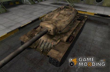 Ремоделинг танкаT34 hvy со шкуркой for World of Tanks