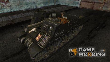 Шкурка для M7 Priest для World of Tanks