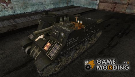 Шкурка для M7 Priest for World of Tanks