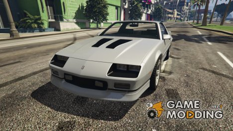 1990 Chevrolet Camaro IROC-Z 1.0 for GTA 5