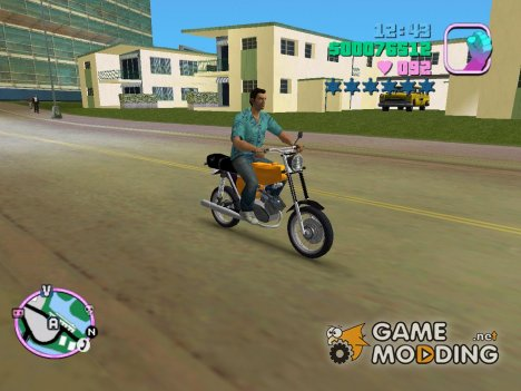 Simson S51 for GTA Vice City