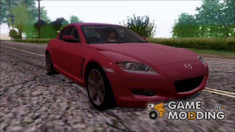 Mazda RX8 2005 for GTA San Andreas
