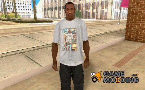 Футболка GTA V for GTA San Andreas