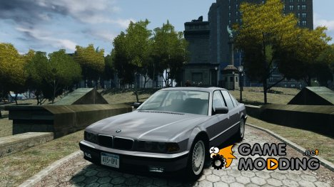 BMW 750i E38 1998 for GTA 4
