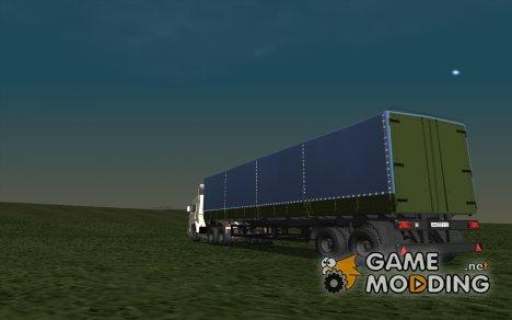 Нефаз 93344 из дальнобойщиков для GTA San Andreas