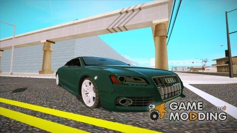 Audi S5 2010 for GTA San Andreas