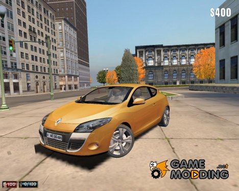 Renault Megane III Coupe для Mafia: The City of Lost Heaven