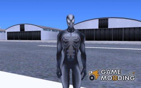 Black spider man для GTA San Andreas