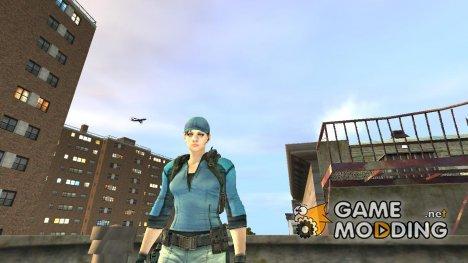 Jill Valentine v.1 для GTA 4