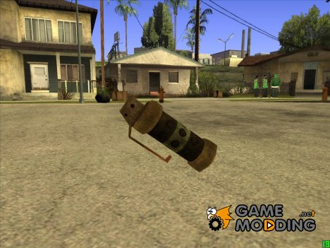 Tear gas Postapokalipsis для GTA San Andreas