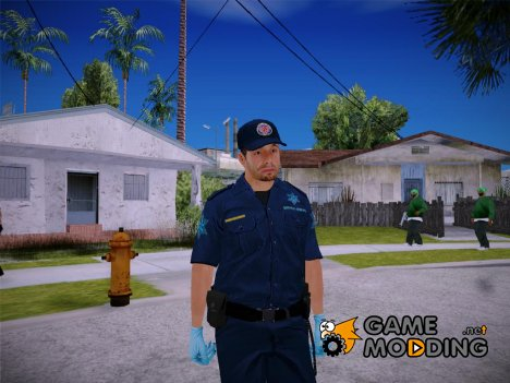 GTA V Paramedic LV for GTA San Andreas