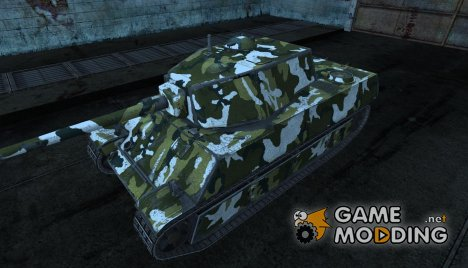 Шкурка для AMX M4 1945 for World of Tanks