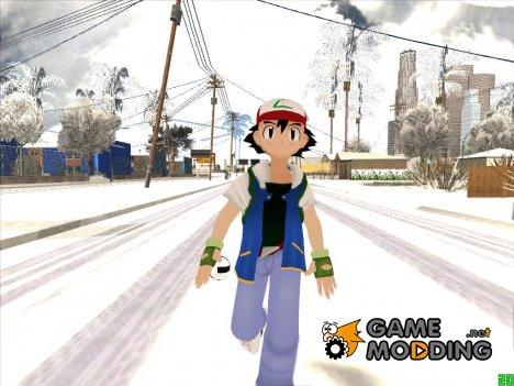 Эш Кетчум из мультсериала Покемон for GTA San Andreas