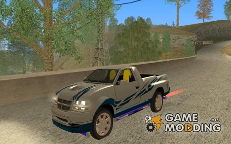Canyon From Flat Out 2 для GTA San Andreas
