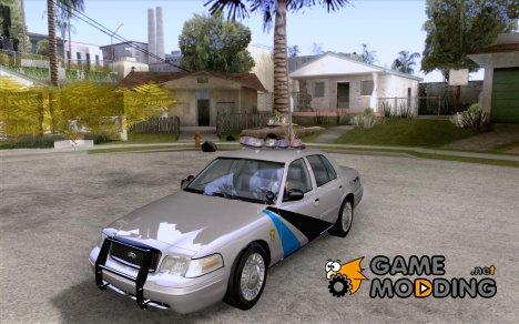 Ford Crown Victoria Colorado Police для GTA San Andreas