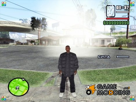 Болоньевая куртка для GTA San Andreas