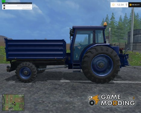 BUEHRER 6135м for Farming Simulator 2015